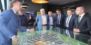 MHP Ankara İl Başkanı, Otonomi'yi ziyaret etti