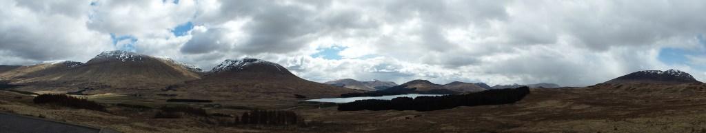 Mountain and Lake views