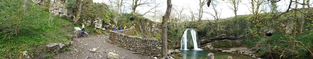 Janet's Foss. This is the stuff fairy tales are made of (actually though, rumor is a fairy lives in that cave..)