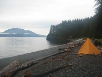 A calm September morning in the Valdez Arm.