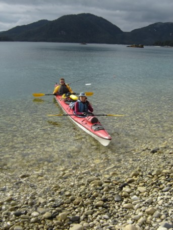 Coming in for a landing. Granite Bay 2005.