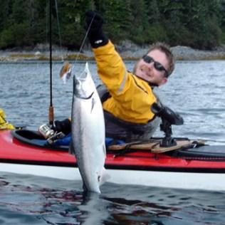 Silver Salmon run in Prince William Sound