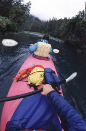 Cruzing the protected wilderness of Prince William Sound.