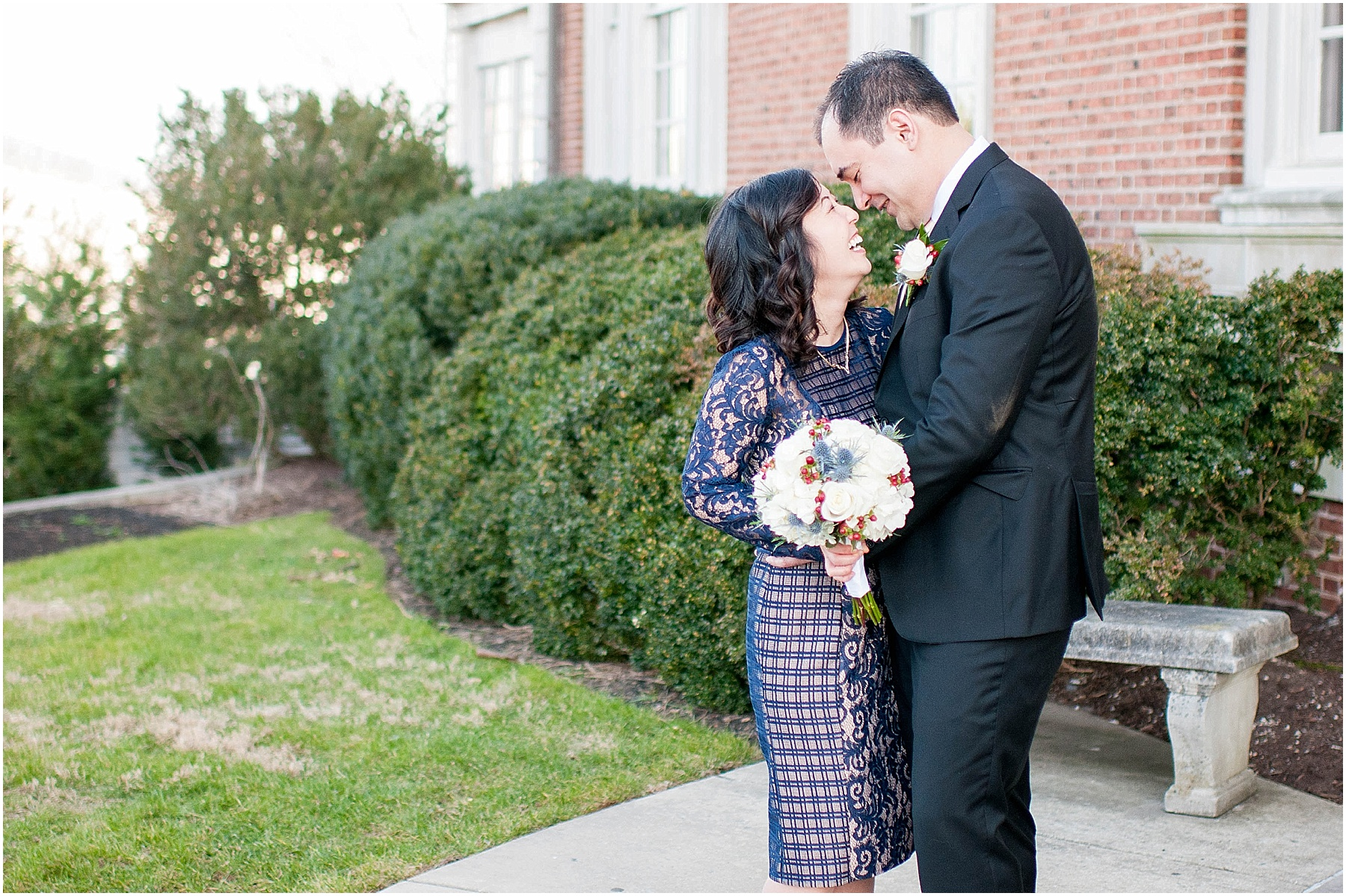 Small intimate wedding at Mansion at Strathmore - Ana Isabel Photography 17