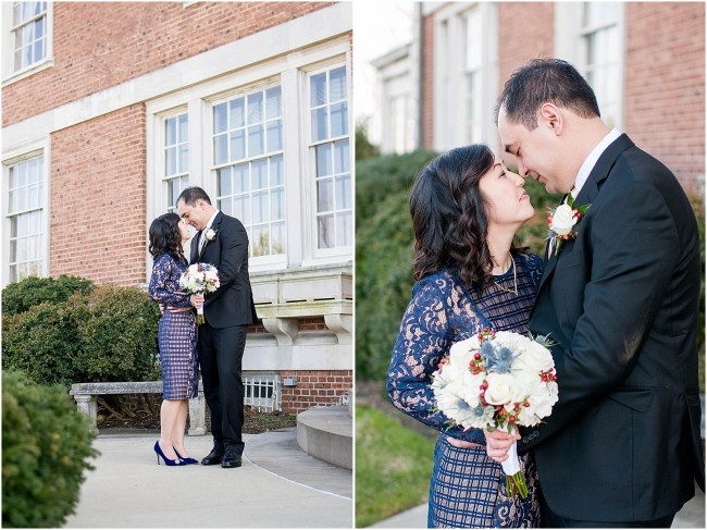 Small intimate wedding at Mansion at Strathmore | Ana Isabel Photography 18