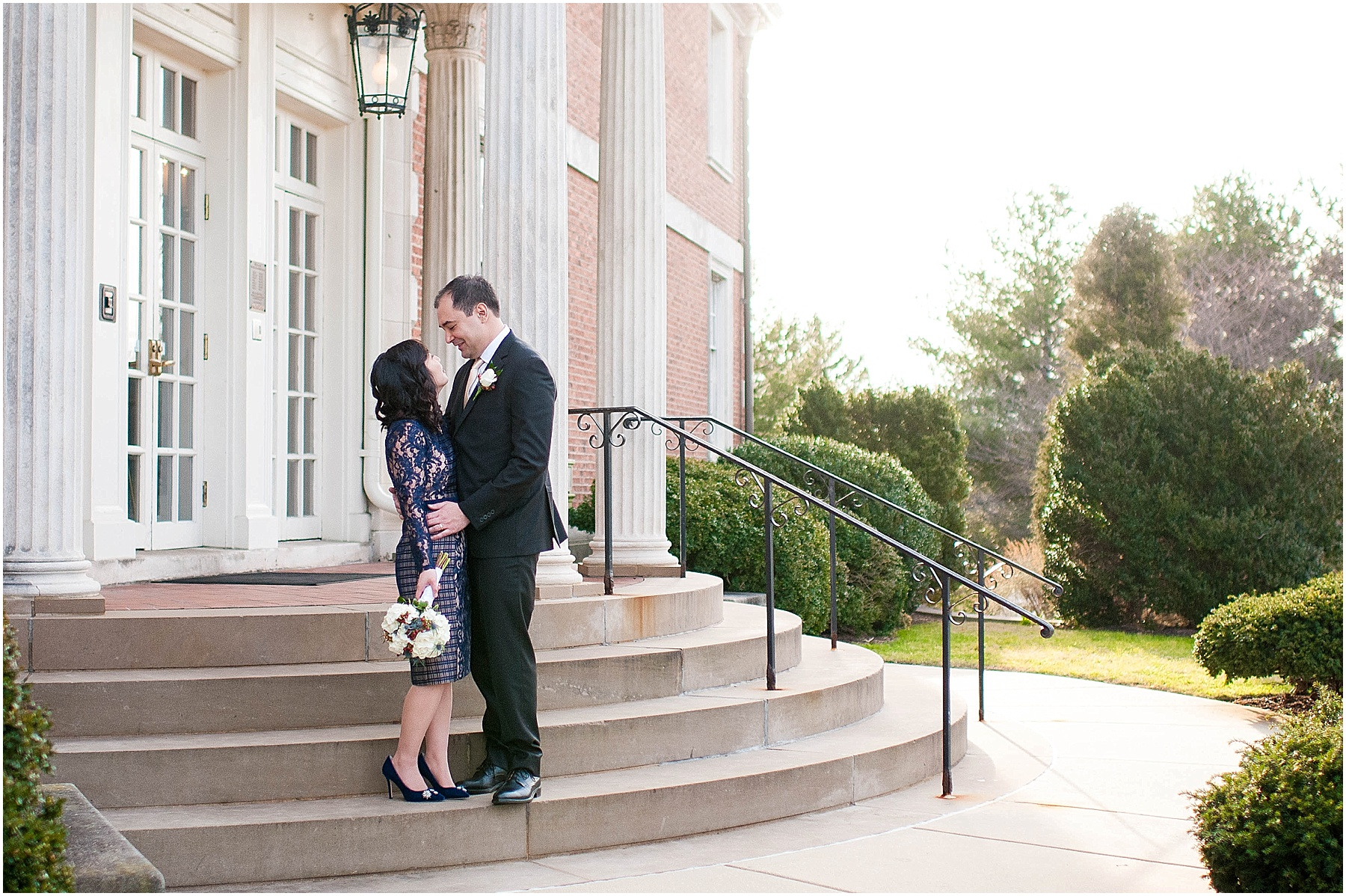 Small intimate wedding at Mansion at Strathmore - Ana Isabel Photography 45