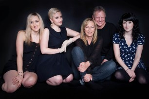 Family group portrait professional studio photography by Anais Chaine in Auckland Ponsonby New Zealand