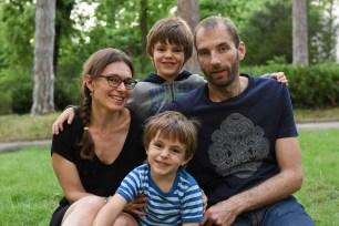 portrait professionnel de photo de famille