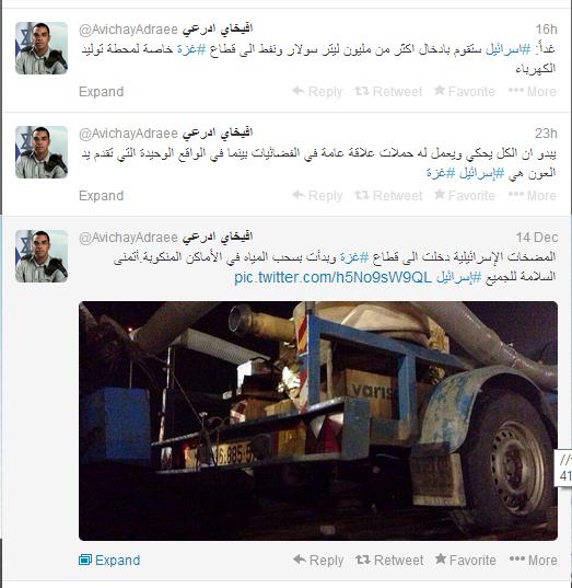 افيخاي ادرعي المتحدث باسم جيش الإحتلال يتحدث عن إغاثة قطاع غزة