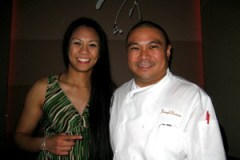 Me & Chef Joseph Elevado of Andrea's at the Encore, Las Vegas, NV