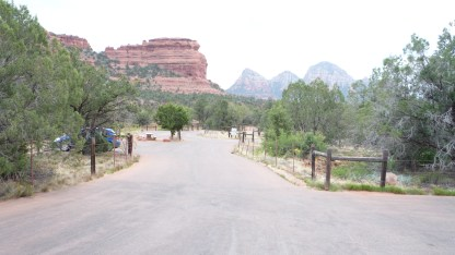 Sedona Vortex Parking Lot