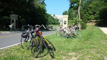 Bikes at VMI