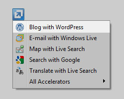 Blog with WordPress Accelerator