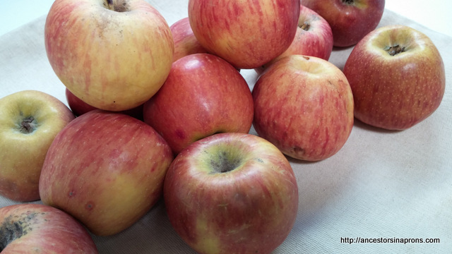 Apples for stewed apples