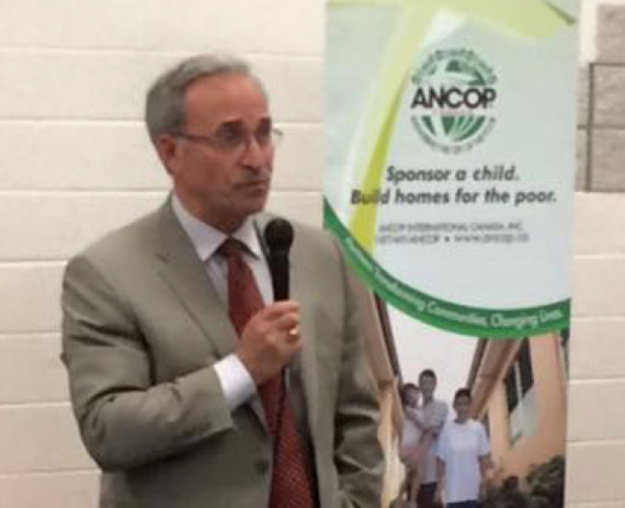 Larry and Tova Vickar champions of ANCOP donated anew $25T