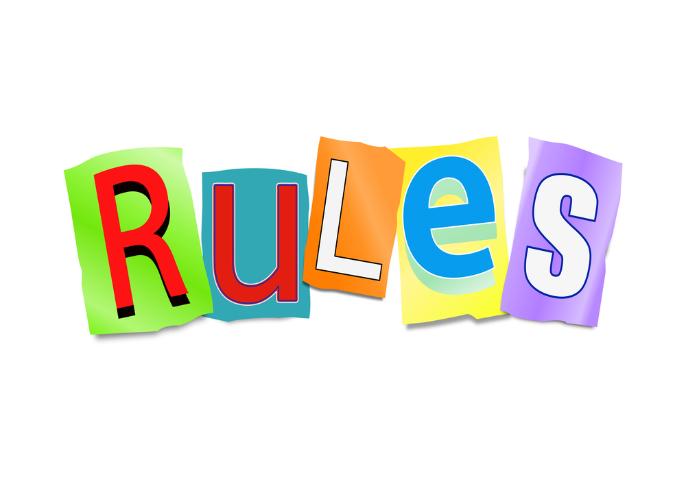 Something about rules…
