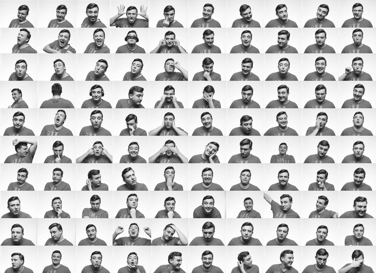 100-faces