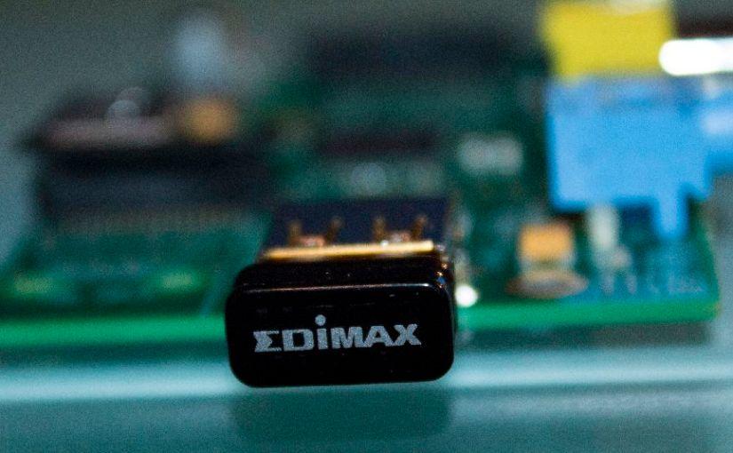 Raspberry Pi : Routeur Edimax EW-7811UN Nano