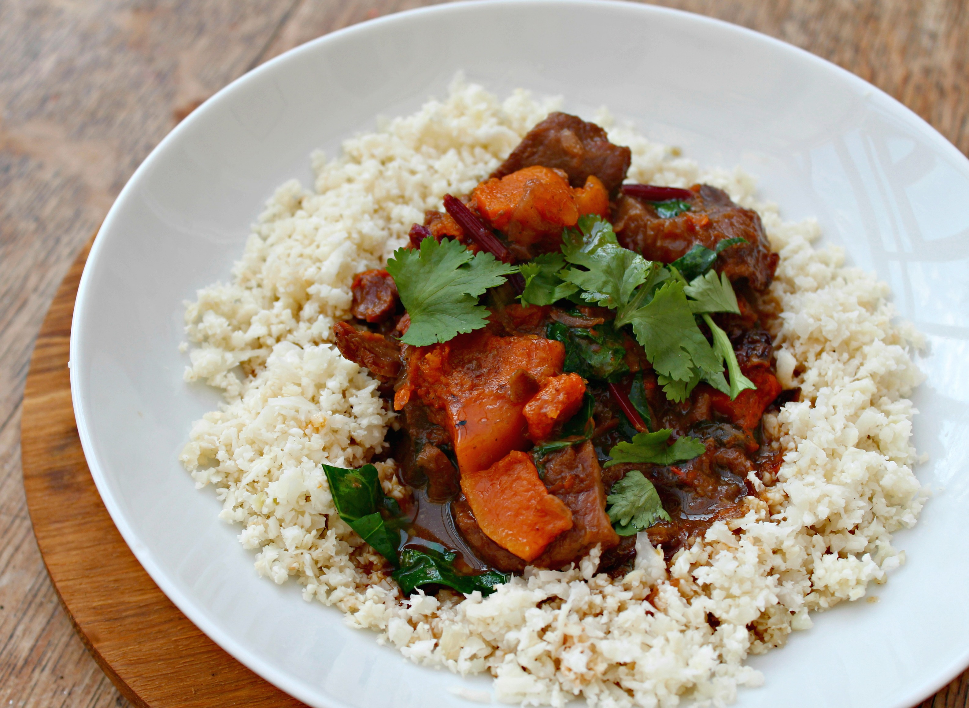 Note: This Moroccan Beef Stew can also be made in a crockpot ...