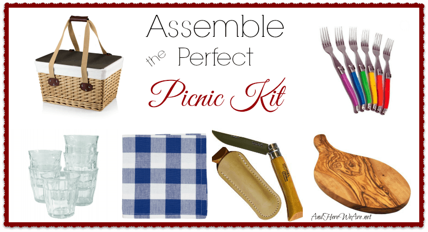 Assemble the Perfect Picnic Kit!