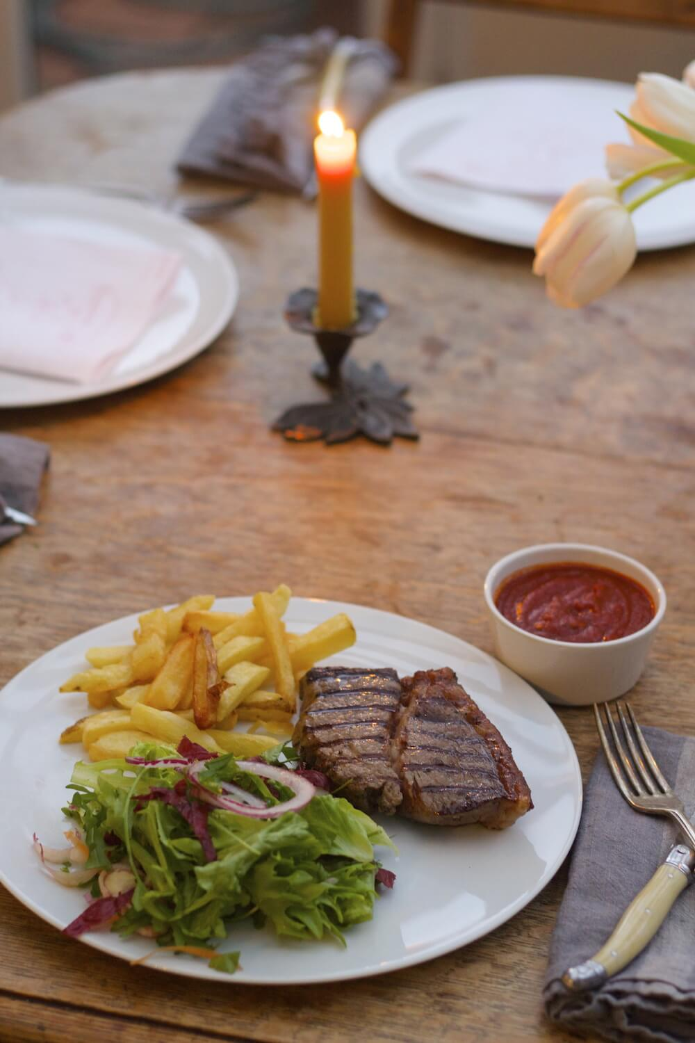 Steak Frites & Salad