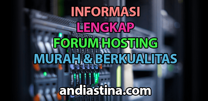 informasi forum hosting