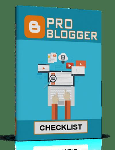 Pro Blogger Checklist