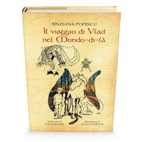 """Coperta volumului """"Il Viaggio di Vlad nel Mondo-di-là"""""""