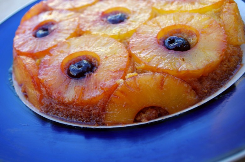 Paleo Pineapple Upside-Down Cake I