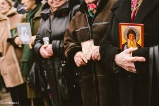 Participante la marș