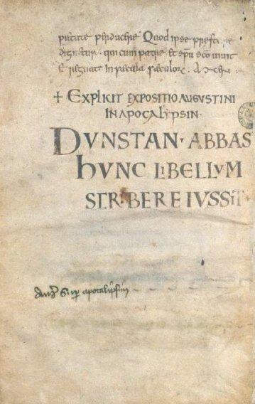 Dunstan Mercia England