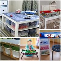 DIY Lego Tables Kids Love