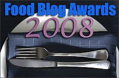 2008 Food Blog Awards logo
