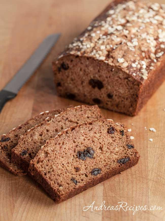 Andrea Meyers - Apple Cinnamon Oatmeal Bread
