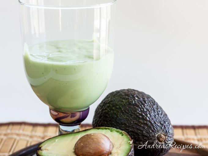 Andrea's Recipes - Avocado Smoothie