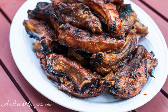 Andrea Meyers - Barbecued Ribs