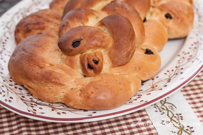 Braided Easter Bread - Andrea Meyers