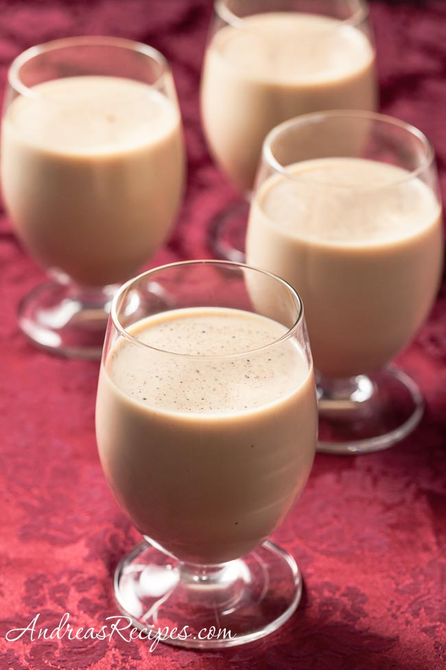 Irish Coffee Eggnog - Andrea Meyers