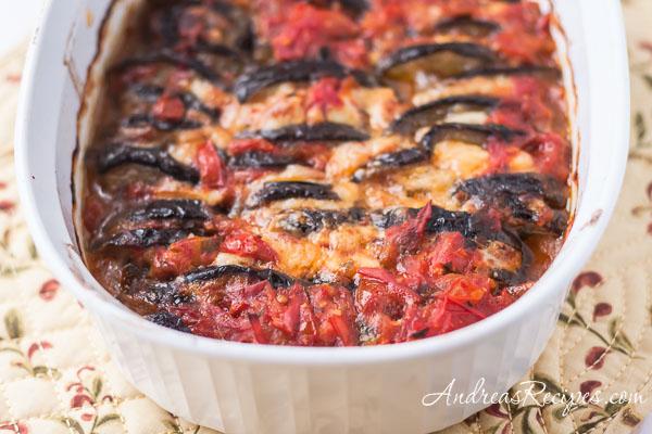 Eggplant Gratin (Gratin D'Aubergines, Provencal) - Andrea Meyers