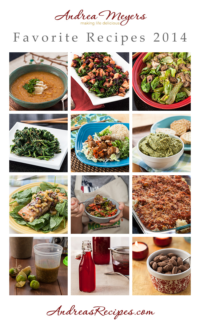 Favorite Recipes of 2014 - Andrea Meyers