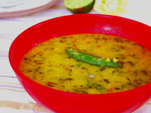 eCurry - Lentil Soup with Fenugreek (Methi Dal)