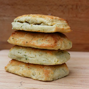 17 And Baking - Cream Cheese and Chive Biscuits