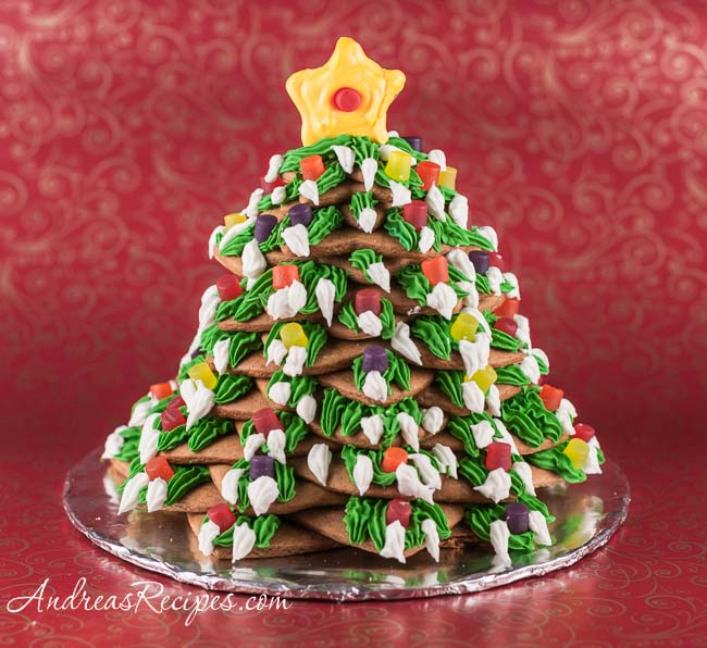 Andrea Meyers - Gingerbread Christmas Tree