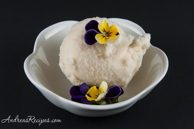 Andrea Meyers - Lavender and Honey Sorbet