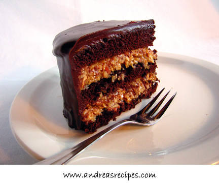 Andrea Meyers - Inside-Out German Chocolate Cake