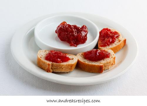 Andrea's Recipes - Tomato Jam (Doce de Tomate)