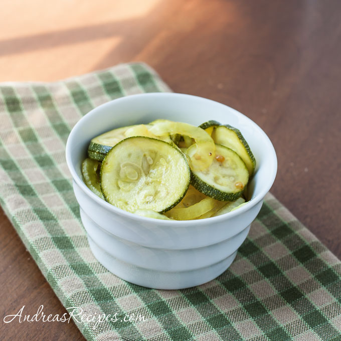 Andrea Meyers - Zucchini Pickles