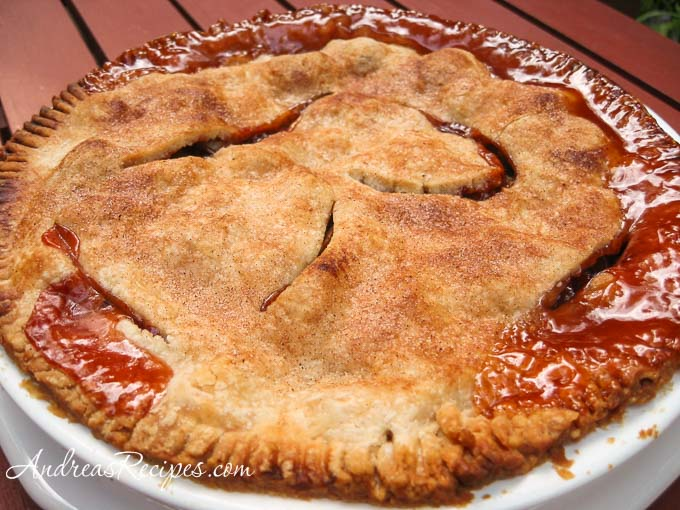 Andrea's Recipes - Rhubarb Pie