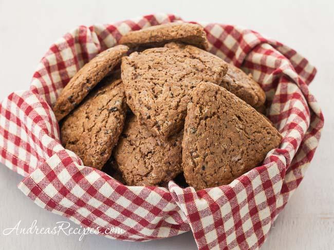 Gingerbread Scones - Andrea Meyers