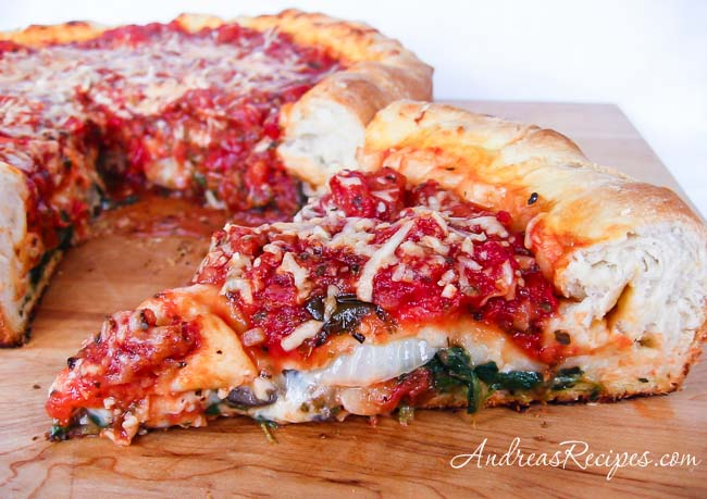 Andrea meyers - Chicago-Style Stuffed Pizza
